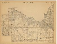 Map Image 013, Green Lake County 1951